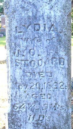 STODARD, LYDIA - Cherokee County, Iowa | LYDIA STODARD