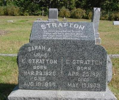 STRATTON, E. & SARAH - Cherokee County, Iowa | E. & SARAH STRATTON