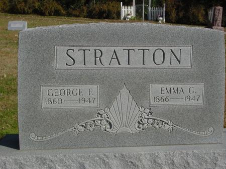 STRATTON, GEORGE & EMMA - Cherokee County, Iowa | GEORGE & EMMA STRATTON
