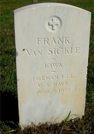 VAN SICKLE, FRANK - Cherokee County, Iowa | FRANK VAN SICKLE