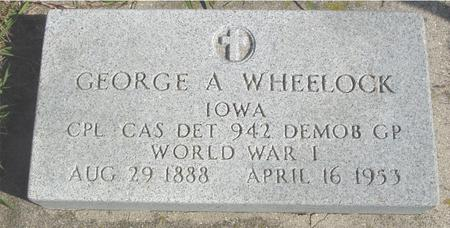 WHEELOCK, GEORGE A. - Cherokee County, Iowa | GEORGE A. WHEELOCK