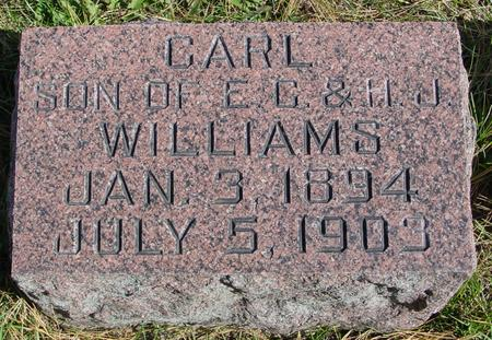 WILLIAMS, CARL - Cherokee County, Iowa | CARL WILLIAMS