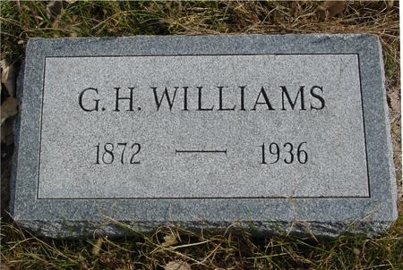 WILLIAMS, G. H. - Cherokee County, Iowa | G. H. WILLIAMS