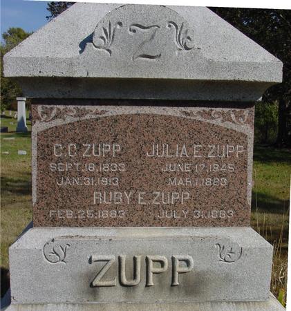 ZUPP, CHRISTOPHER C. - Cherokee County, Iowa   CHRISTOPHER C. ZUPP