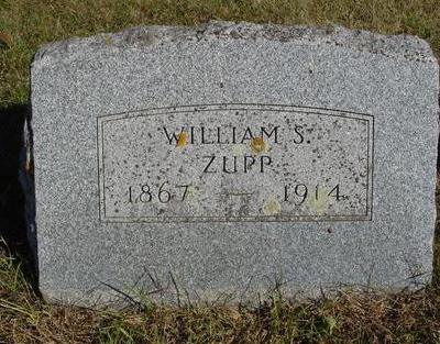 ZUPP, WILLIAM S. - Cherokee County, Iowa | WILLIAM S. ZUPP