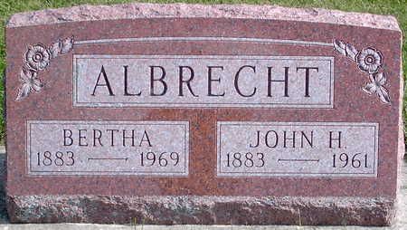 ALBRECHT, BERTHA - Chickasaw County, Iowa | BERTHA ALBRECHT