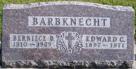 BARBKNECHT, BERNIECE D - Chickasaw County, Iowa | BERNIECE D BARBKNECHT