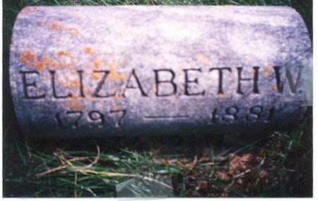 BARTLETT, ELIZABETH - Chickasaw County, Iowa | ELIZABETH BARTLETT