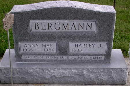 BERGMANN, ANNA MAE - Chickasaw County, Iowa | ANNA MAE BERGMANN