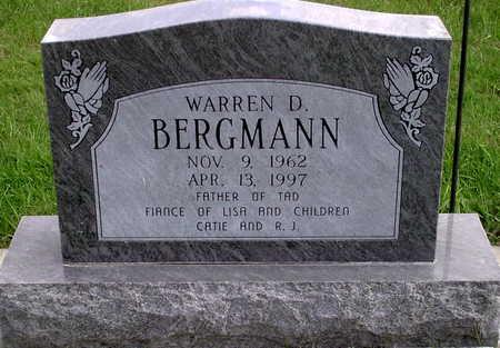 BERGMANN, WARREN D. - Chickasaw County, Iowa   WARREN D. BERGMANN