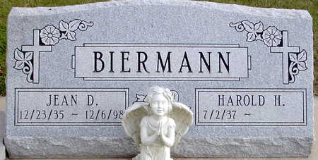 BIERMANN, JEAN D. - Chickasaw County, Iowa | JEAN D. BIERMANN