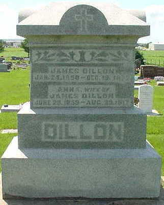 DILLON, JAMES - Chickasaw County, Iowa | JAMES DILLON