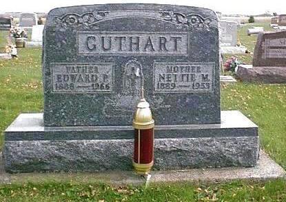 GUTHART, ANNETTE (NETTIE) M. - Chickasaw County, Iowa | ANNETTE (NETTIE) M. GUTHART