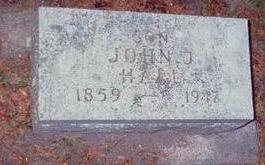 HALL, JOHN J. - Chickasaw County, Iowa   JOHN J. HALL