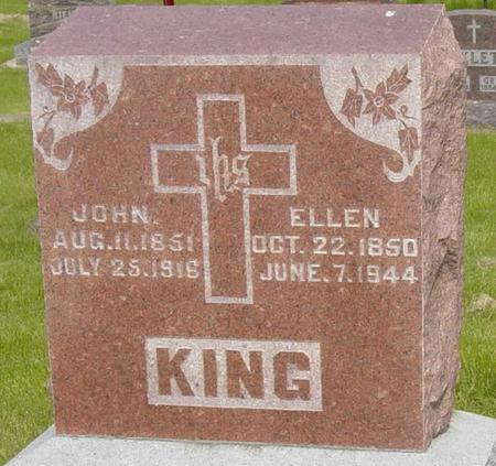 KING, JOHN - Chickasaw County, Iowa | JOHN KING