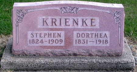 KRIENKE, DORTHEA - Chickasaw County, Iowa | DORTHEA KRIENKE