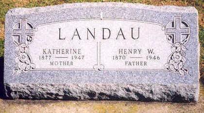 LANDAU, HENRY W. - Chickasaw County, Iowa | HENRY W. LANDAU
