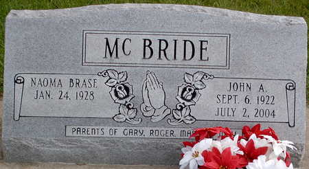 MC BRIDE, JOHN A. - Chickasaw County, Iowa | JOHN A. MC BRIDE