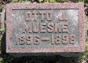 MUESKE, OTTO JULIUS - Chickasaw County, Iowa | OTTO JULIUS MUESKE