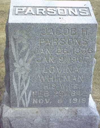 PARSON(S), JACOB H. - Chickasaw County, Iowa | JACOB H. PARSON(S)