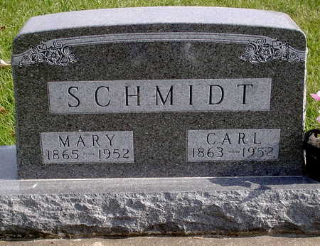 SCHMIDT, MARY - Chickasaw County, Iowa | MARY SCHMIDT