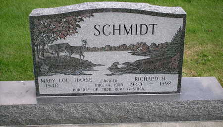 SCHMIDT, RICHARD H. - Chickasaw County, Iowa | RICHARD H. SCHMIDT