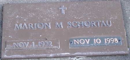SCHORTAU, MARION M. - Chickasaw County, Iowa | MARION M. SCHORTAU