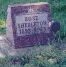 SHEKLETON, ROSE - Chickasaw County, Iowa | ROSE SHEKLETON