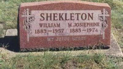 HEATHERTON SHEKLETON, WILLIAM & MARY JOSEPHINE - Chickasaw County, Iowa | WILLIAM & MARY JOSEPHINE HEATHERTON SHEKLETON