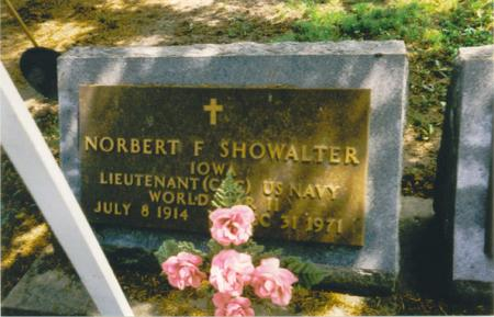 SHOWALTER, REV. NORBERT F - Chickasaw County, Iowa | REV. NORBERT F SHOWALTER