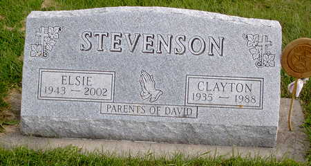 STEVENSON, ELSIE - Chickasaw County, Iowa | ELSIE STEVENSON