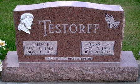 TESTORFF, EDITH E. - Chickasaw County, Iowa | EDITH E. TESTORFF