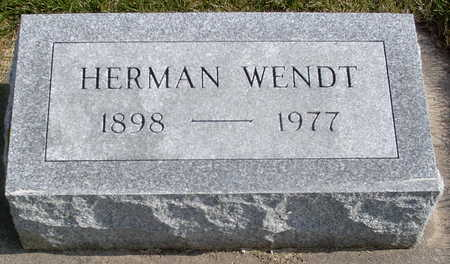 WENDT, HERMAN - Chickasaw County, Iowa | HERMAN WENDT