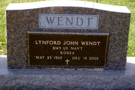 WENDT, LYNFORD - Chickasaw County, Iowa | LYNFORD WENDT
