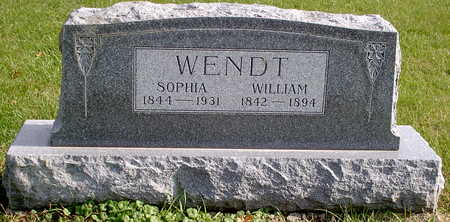 WENDT, WILLIAM - Chickasaw County, Iowa | WILLIAM WENDT
