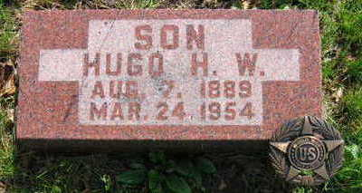 WOLFF, HUGO HERMAN WILLIAM - Chickasaw County, Iowa | HUGO HERMAN WILLIAM WOLFF