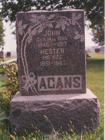 LITTLE AGANS, HESTER - Clarke County, Iowa | HESTER LITTLE AGANS