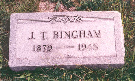 BINGHAM, JAMES - Clarke County, Iowa | JAMES BINGHAM