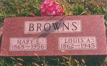 LITTLE BROWNS, MARY - Clarke County, Iowa | MARY LITTLE BROWNS