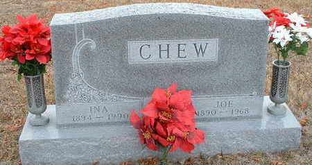 CHEW, INA - Clarke County, Iowa | INA CHEW