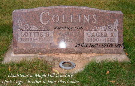 CRAIG COLLINS, LOTTIE - Clarke County, Iowa | LOTTIE CRAIG COLLINS