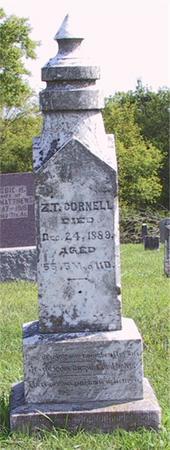 CORNELL, ZEPHANIAH - Clarke County, Iowa | ZEPHANIAH CORNELL