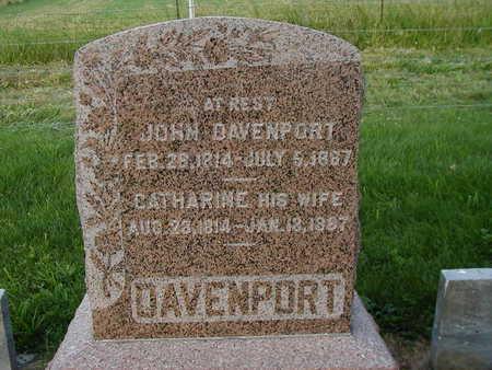 DAVENPORT, CATHERINE - Clarke County, Iowa | CATHERINE DAVENPORT