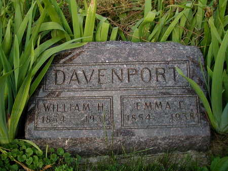 DAVENPORT, WILLIAM H - Clarke County, Iowa | WILLIAM H DAVENPORT