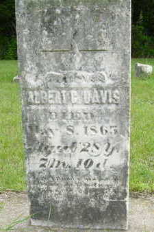DAVIS, ALBERT G. - Clarke County, Iowa | ALBERT G. DAVIS