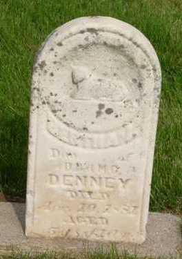 DENNEY, BERTHA - Clarke County, Iowa | BERTHA DENNEY