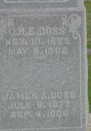 DOSS, JAMES A. - Clarke County, Iowa | JAMES A. DOSS