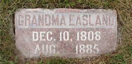 EASLAND, GRANDMA - Clarke County, Iowa | GRANDMA EASLAND