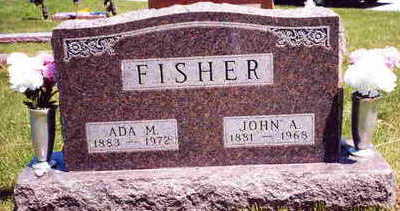 FISHER, JOHN ADAMS - Clarke County, Iowa | JOHN ADAMS FISHER