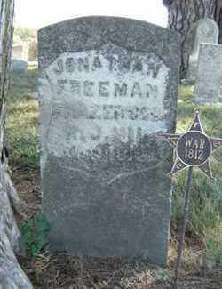 FREEMAN, JONATHAN - Clarke County, Iowa   JONATHAN FREEMAN